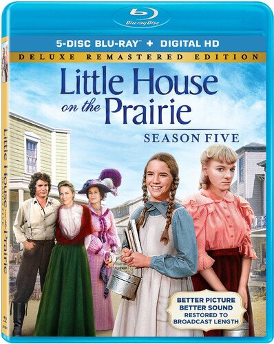 Little House on the Prairie - Season 5 (Deluxe Edition, Remastered, 5 Blu-rays)