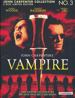 John Carpenters Vampire (1998) (1998) (Cover B, Limited Edition, Mediabook, Uncut, Blu-ray + DVD)