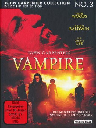 John Carpenters Vampire (1998) (Cover C, Limited Edition, Mediabook, Blu-ray + DVD)