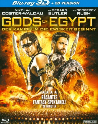 Gods of Egypt (2016) (Blu-ray 3D + Blu-ray)