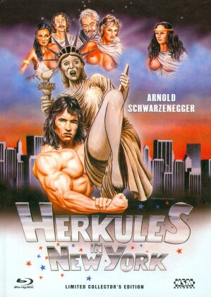 Herkules in New York (1970) (Cover B, Collector's Edition, Limited Edition, Mediabook, Uncut, Blu-ray + DVD)