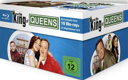 The King of Queens - Die komplette Serie - Staffel 1 - 9 (Remastered, 18 Blu-rays)
