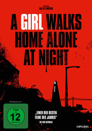A Girl Walks Home Alone at Night (2014) (s/w)