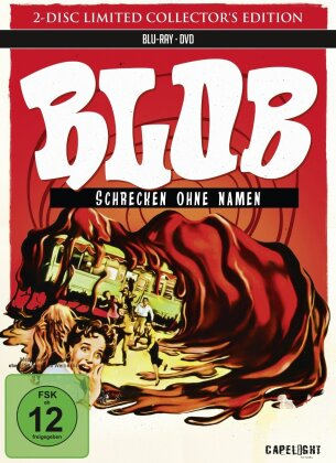 Blob - Schrecken ohne Namen (1958) (Limited Collector's Edition, Mediabook, Blu-ray + DVD)
