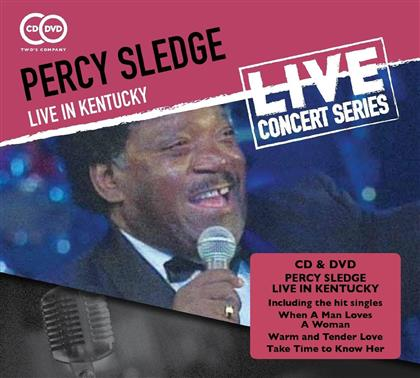 Percy Sledge - Live In Kentucky (CD + DVD)