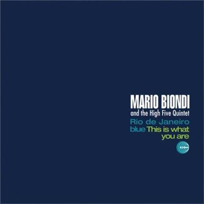 Mario Biondi & High Five Quintet - This Is What You Are (LP)