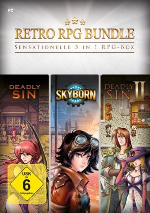 Retro RPG Bundle - 3 in 1 RPG Box