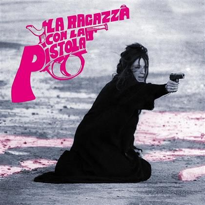 Peppino De Luca - La Ragazza Con La Pistola - OST (Limited Edition, Pink And Black Split , LP)