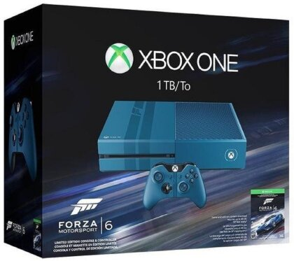 XBOX ONE Console 1 TB Forza 6 Bundle (Limited Edition)