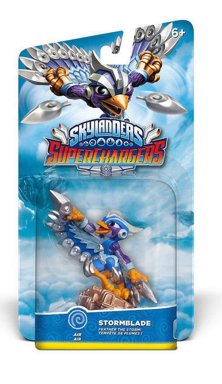 Bild Skylanders Superchargers Single Driver Stormblade - (Xbox 360, Xbox One, PlayStation 4, WII, WII U, Nintendo 3DS & PC)