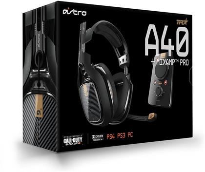 Astro Gaming A40 TR Headset inkl. MixAmp Pro, Schwarz