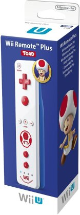 WiiU Remote Plus Toad Edition