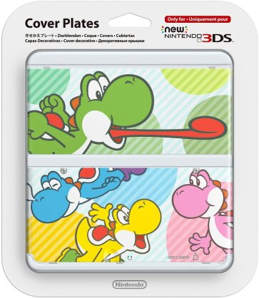 New 3DS Cover - Bunte Yoshis