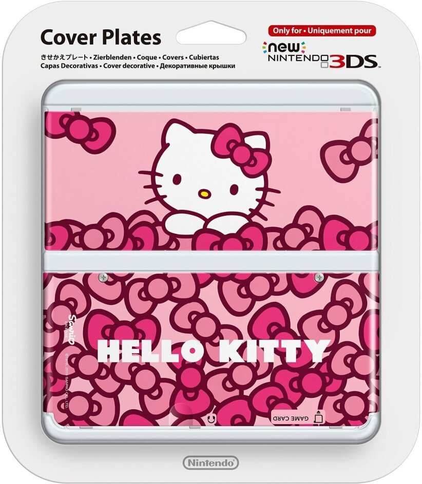 New 3DS - Cover Hello Kitty