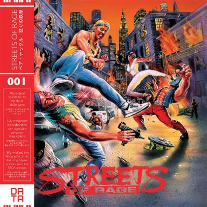 Streets Of Rage & Yuzo Koshiro - OST - Limited Red Vinyl (Remastered, Colored, LP)