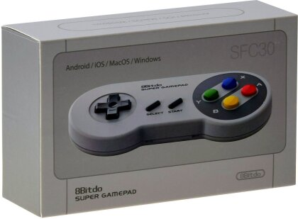 8Bitdo NES30 SFC30 Bluetooth Super Gamepad