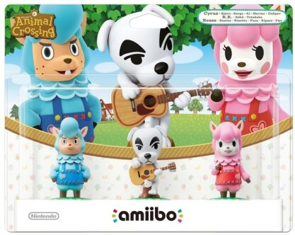 Amiibo Animal Crossing 3 Pack Rosina/K.K/Björn