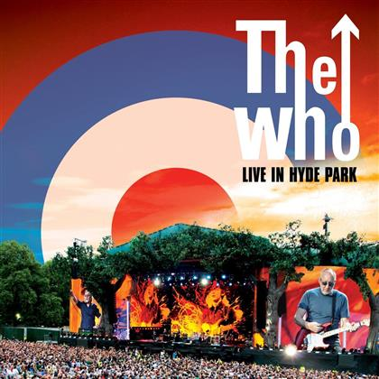 The Who - Live In Hyde Park (Deluxe Edition, 2 CDs + DVD + Blu-ray)