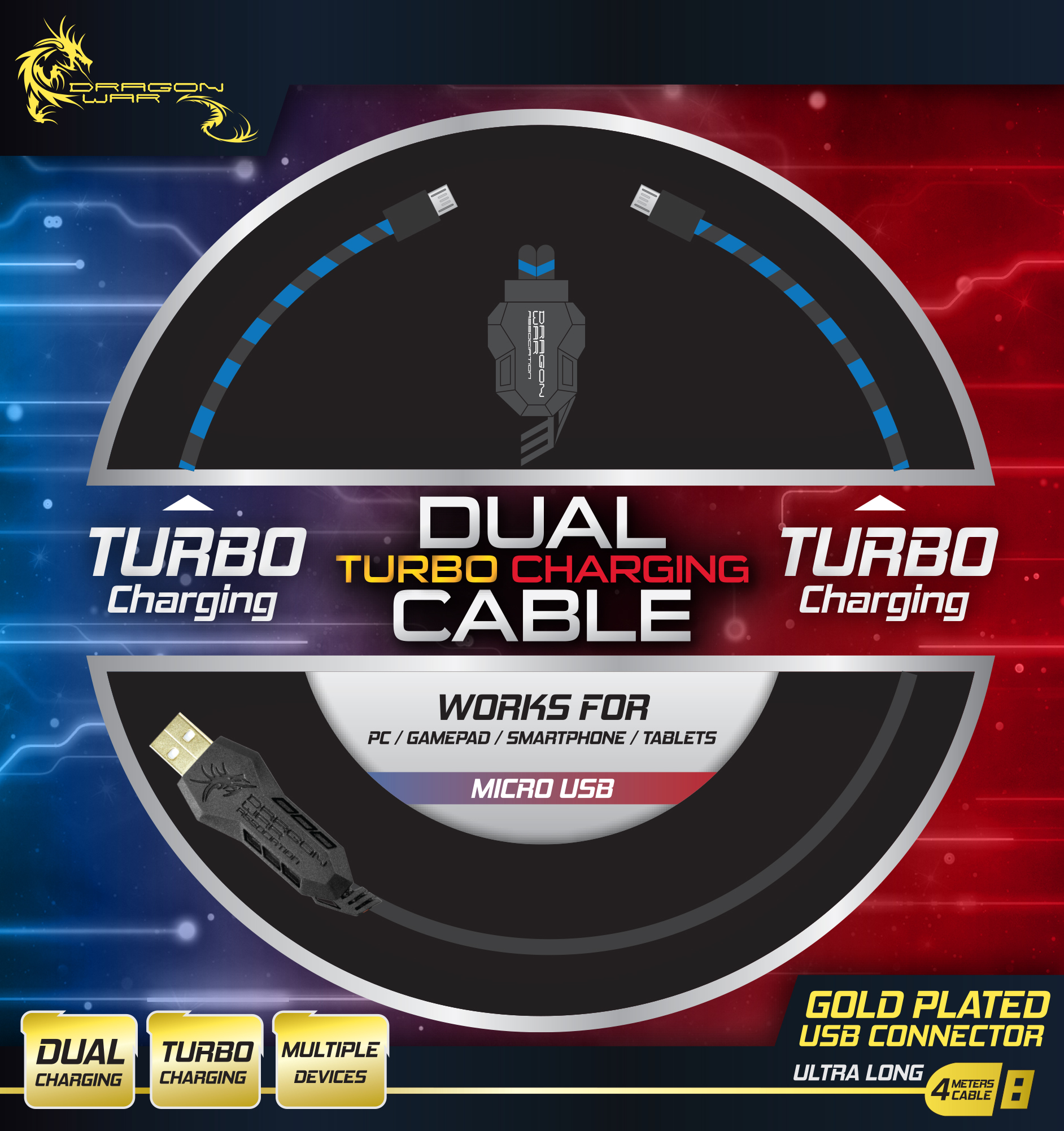 Bild Dual Turbo Charging Cable