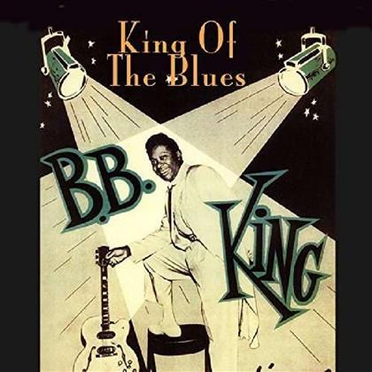 B.B. King - King Of The Blues - 2016 Version, Blue Vinyl (Colored, LP)