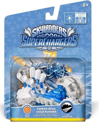 Power Blue Gold Rusher Single Vehicle for Skylanders SuperCharger