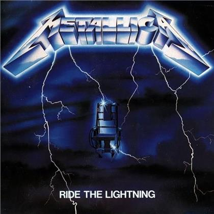 Metallica - Ride The Lightning (Deluxe Edition, 4 LPs + 6 CDs + DVD + Buch)