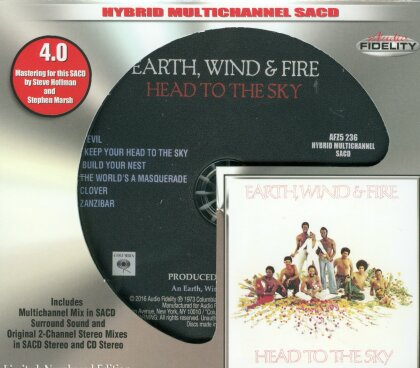 Earth Wind & Fire - Head To The Sky (Limited Edition, SACD)