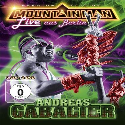 Andreas Gabalier - Mountain Man - Live Aus Berlin (Limited Edition, 2 CDs + 2 DVDs)