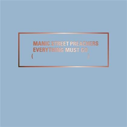 Manic Street Preachers - Everything Must Go 20 - 20th Anniversary Deluxe Boxset (Remastered, 2 CDs + LP + 2 DVDs + Buch)