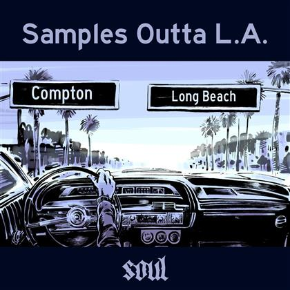 Samples Outta L.A. - Soul - Various - Limited Edition (Limited Edition, Colored, LP)