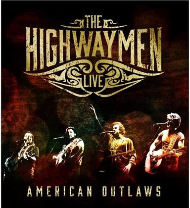 Highwaymen - American Outlaws (Limited Edition, 3 CDs + Blu-ray)