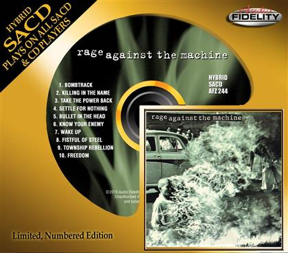 Rage Against The Machine - --- - Audio Fidelity (Limited Edition, SACD)