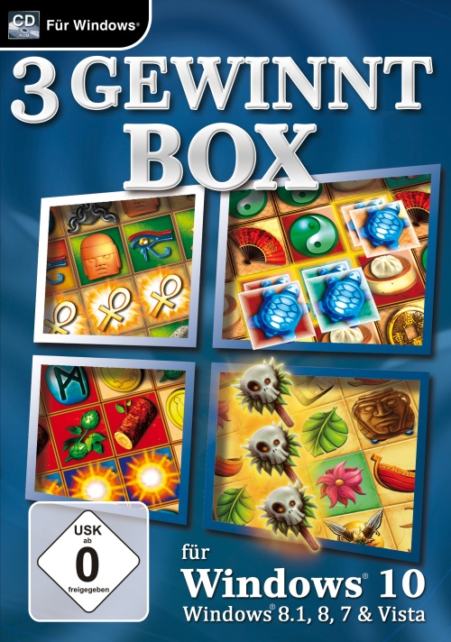 Image of 3 GEWINNT BOX für Windows 10