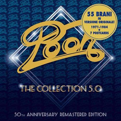 I Pooh - Collection 5.0 - 50th Anniversary Edition, Deluxe Edition (Remastered, 5 CDs)
