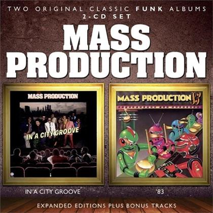 Mass Production - In A City Groove / '83 (Expanded Edition, Remastered, 2 CDs)