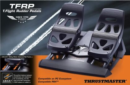 TFRP T. Flight Rudder Pedals