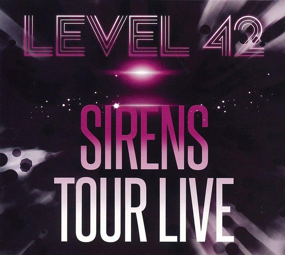 Level 42 - Sirens - Tour Live (2 CDs + DVD)