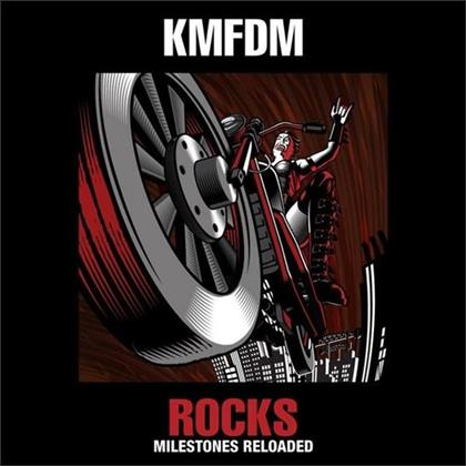 KMFDM - Rocks - Milestones Reloaded (Deluxe Edition, CD + DVD)