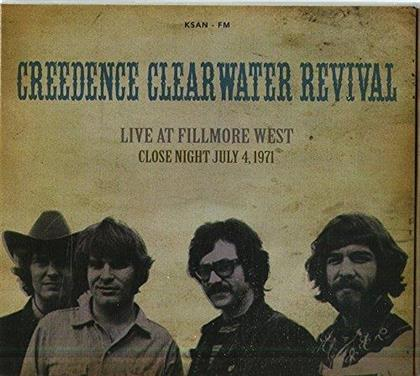 Creedence Clearwater Revival - Live At Fillmore West, July 1971 FM Broadcast