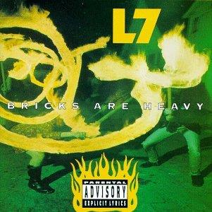 L7 - Bricks Are Heavy - Red Vinyl (Colored, LP)