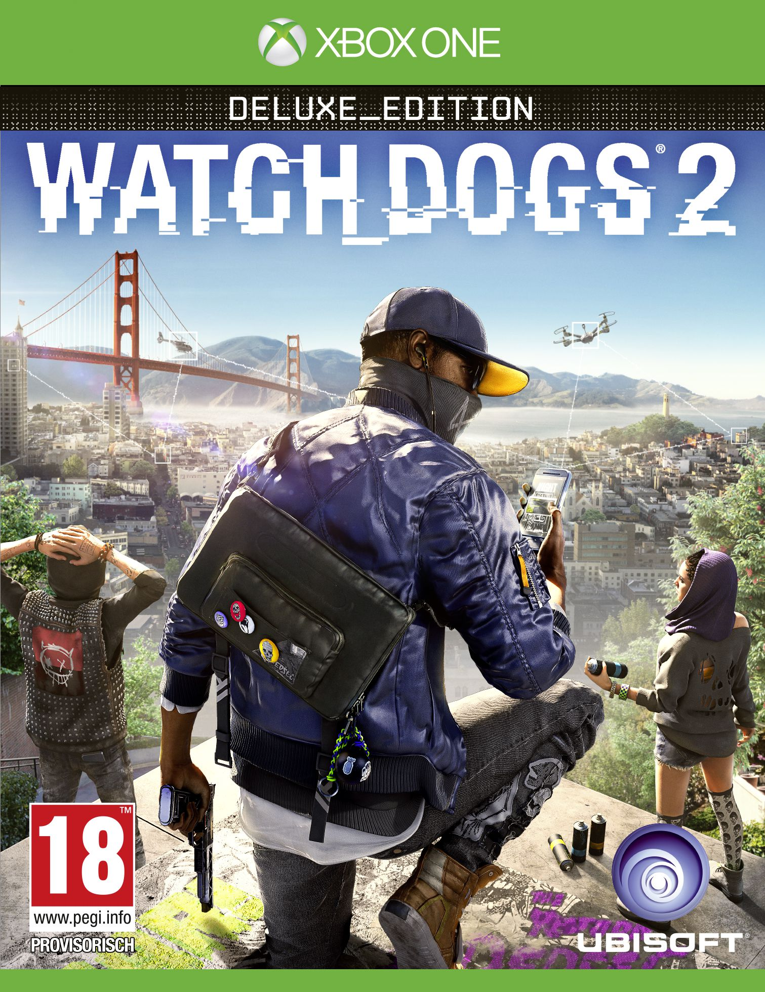 Bild Watch Dogs 2 - (Édition Deluxe)