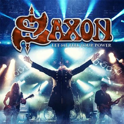 Saxon - Let Me Feel Your Power (Deluxe Edition, 2 LPs + Blu-ray + 2 CDs)