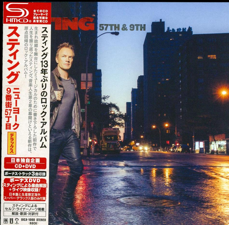 Sting - 57Th & 9Th (Deluxe Edition, CD + DVD)
