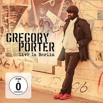 Gregory Porter - Live In Berlin (Deluxe Edition, 2 CDs + DVD)