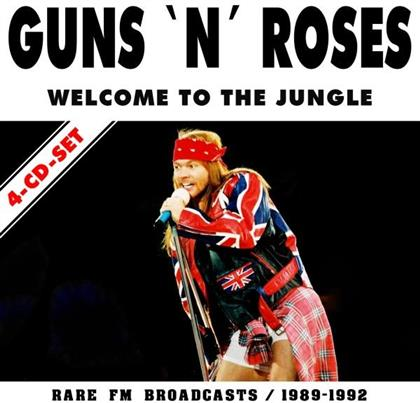 Guns N' Roses - Welcome To The Jungle (4 CDs)