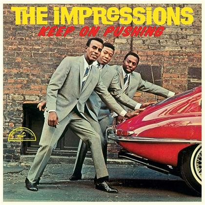 The Impressions - Keep On Pushing (Limited Edition, LP)