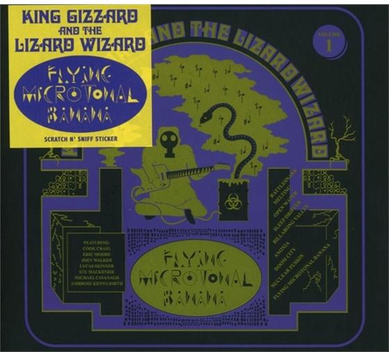 King Gizzard & The Lizard Wizard - Flying Microtonal Banana (Deluxe Edition)