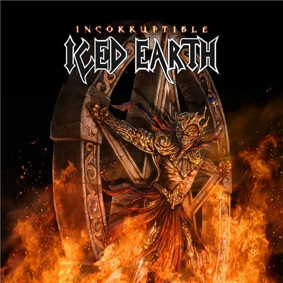 Iced Earth - Incorruptible - 2 x 10 Inch Red Vinyl (Colored, CD + 2 LPs)