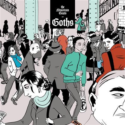 The Mountain Goats - Goths (Deluxe Edition, 3 LPs)