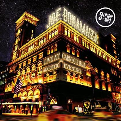 Joe Bonamassa - Live At Carnegie Hall - An Acoustic Evening (3 LPs + Digital Copy)